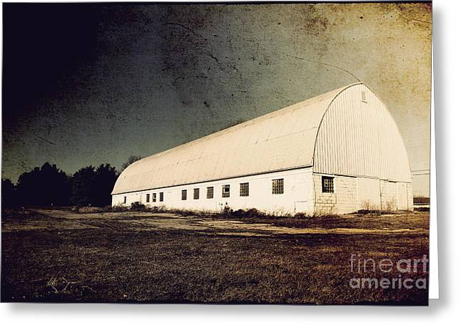 Barn Landscape Photographs Greeting Cards - Appleton Barn Greeting Card by Joel Witmeyer