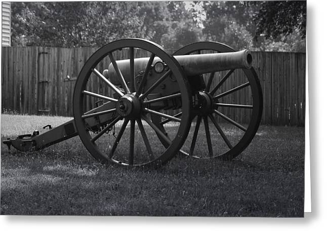 April 9 1865 Greeting Cards - Appomattox Cannon Greeting Card by Teresa Mucha