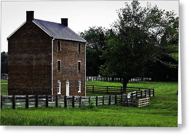 Appomattox County Jail Greeting Card by Teresa Mucha