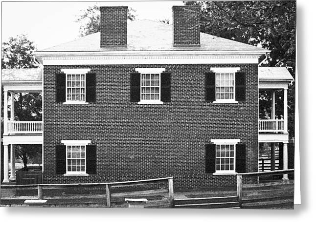 Confederate Monument Greeting Cards - Appomattox Courthouse Greeting Card by Teresa Mucha