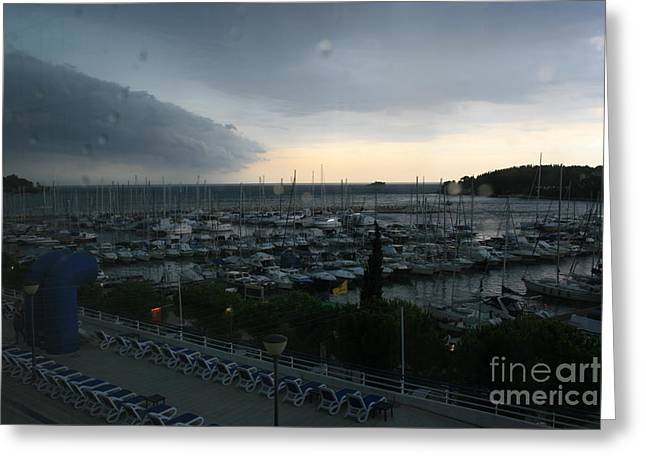 Approaching Storm Greeting Card by Andy  Mercer