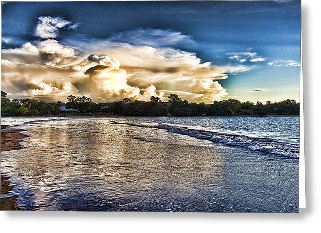 Approaching Storm Clouds Greeting Card by Douglas Barnard