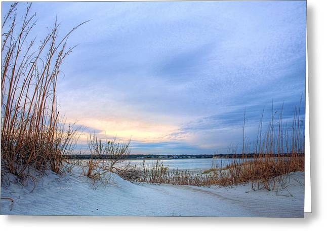 Wrightsville Beach Greeting Cards - Approaching Storm Greeting Card by JC Findley
