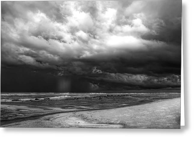 Anna Maria Island Greeting Cards - Approcahing Storm Anna Maria Island Greeting Card by Jim Dohms