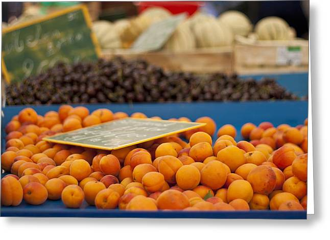 Apricot Photographs Greeting Cards - Apricot Season Greeting Card by Nomad Art And  Design