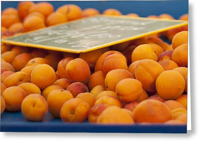 Apricot Photographs Greeting Cards - Apricots Greeting Card by Nomad Art And  Design