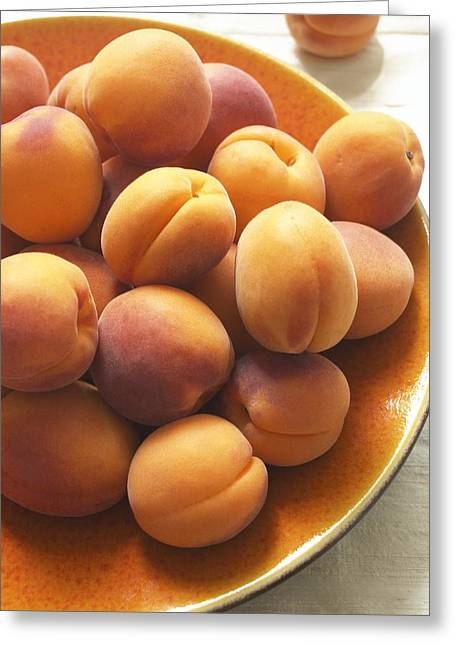 Apricot Greeting Cards - Apricots Greeting Card by Jon Stokes