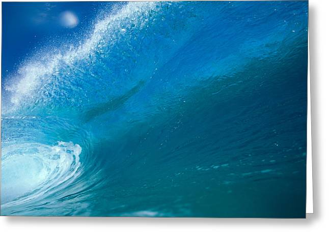 Vince Greeting Cards - Aqua Tube Greeting Card by Vince Cavataio - Printscapes