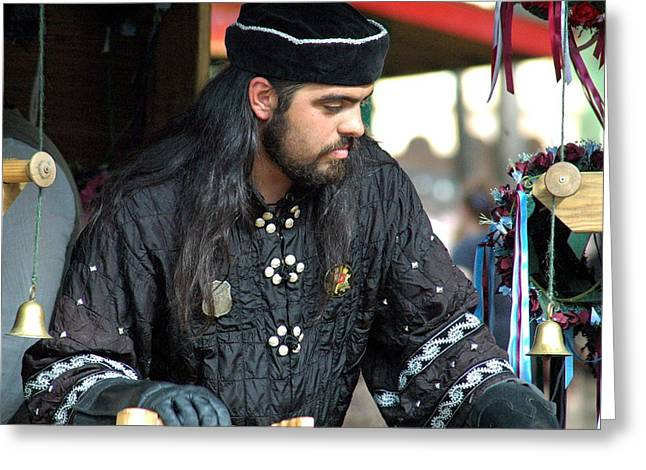 Arabian Knights Greeting Cards - Arabian Knight Greeting Card by Teresa Blanton