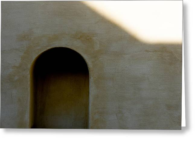 Shadows Greeting Cards - Arch in Shadow Greeting Card by Dave Bowman