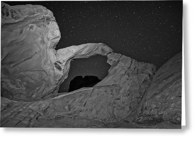 Arch Greeting Cards - Arch in Valley of Fire Nevada Greeting Card by Rick Berk