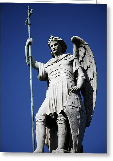 Archangel Greeting Cards - Archangel Greeting Card by Joe Burns