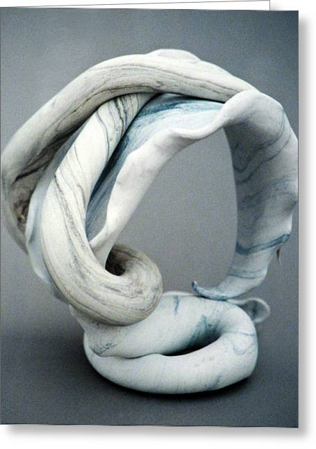 Arch Sculptures Greeting Cards - Arched Greeting Card by Lonnie Tapia