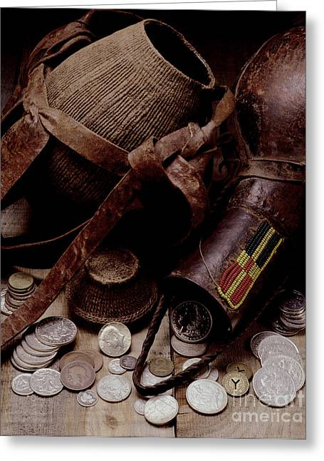 Water Jug Greeting Cards - Archeological Find Year 3009 Greeting Card by Steven Huszar