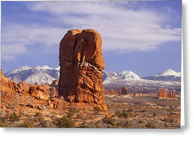 Layers Greeting Cards - Arches National Park Greeting Card by Brian Jannsen