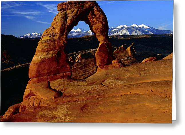 Geomorphology Greeting Cards - Arches National Park, Utah, Usa Greeting Card by Keith Kent