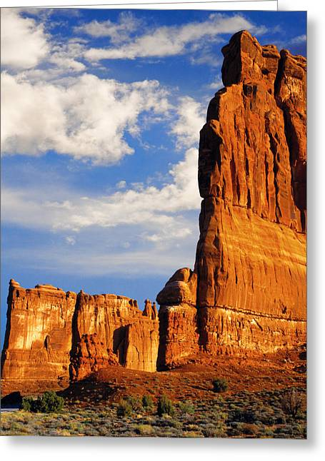 Best Sellers -  - Slickrock Greeting Cards - Arches National Park Utah Greeting Card by Utah Images