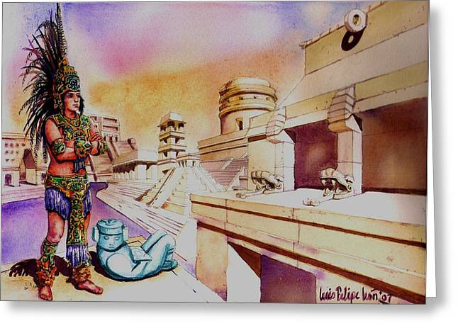 Architect's dream Greeting Card by Luis  Leon