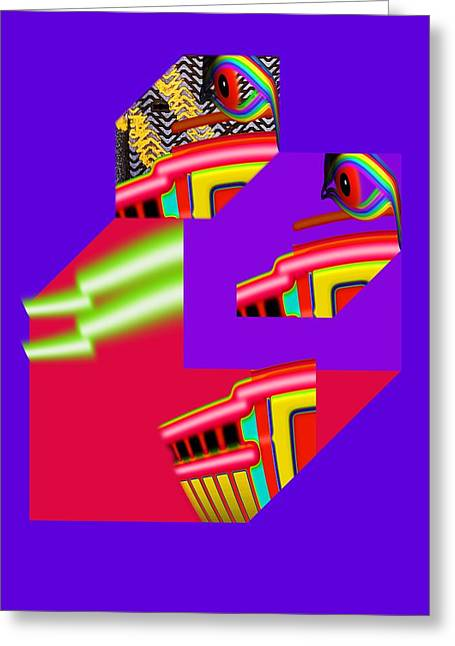 Recently Sold -  - Fed Digital Greeting Cards - Architectural Review Greeting Card by Charles Stuart
