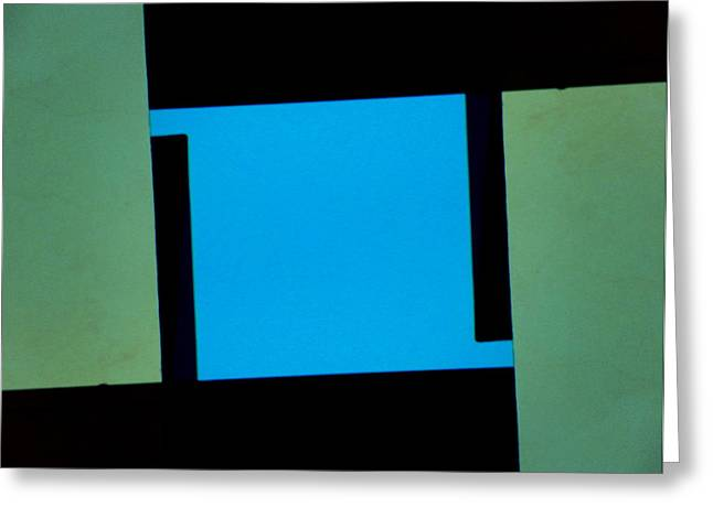 Rectangles Greeting Cards - Architecture 13-2 Greeting Card by Lenore Senior