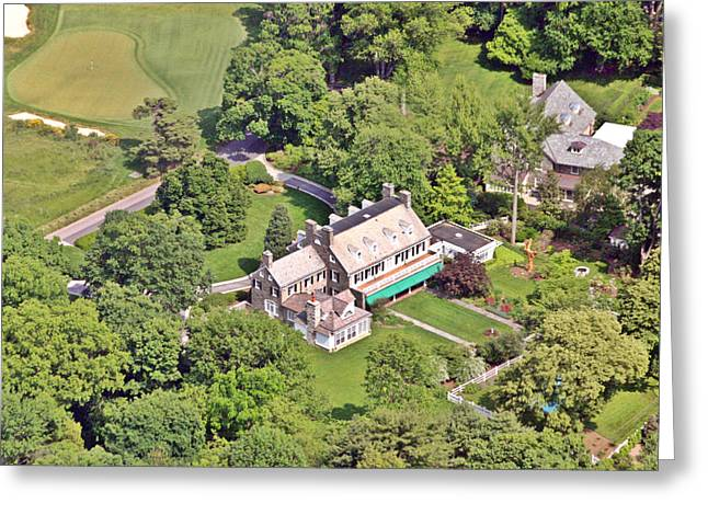 Merion Greeting Cards - Ardmore Stone Home Greeting Card by Duncan Pearson