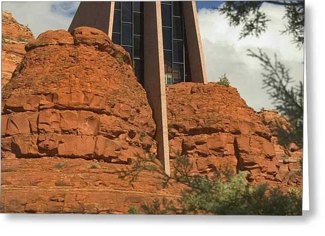 Arizona Outback 4 Greeting Card by Mike McGlothlen