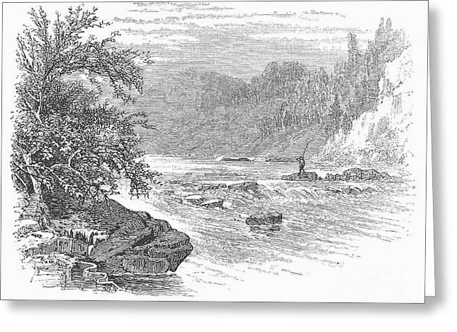 Arkansas Greeting Cards - Arkansas: Ouachita River Greeting Card by Granger