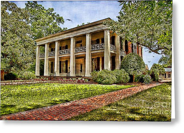 Lianne Schneider Fine Art Print Greeting Cards - Arlington House Greeting Card by Lianne Schneider