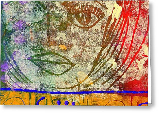 ART   Always Remember Truth Greeting Card by Angela L Walker