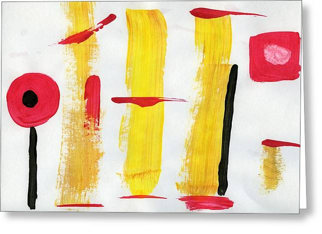 Strategy Paintings Greeting Cards - Art as a Strategy Greeting Card by Taylor Pam