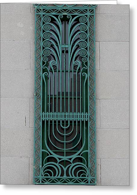 Metal Art Greeting Cards - Art Deco 11 Greeting Card by Andrew Fare