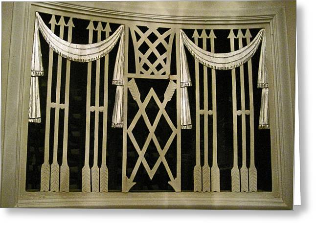 Grate Greeting Cards - Art Deco Grate 2 Greeting Card by Michael Durst