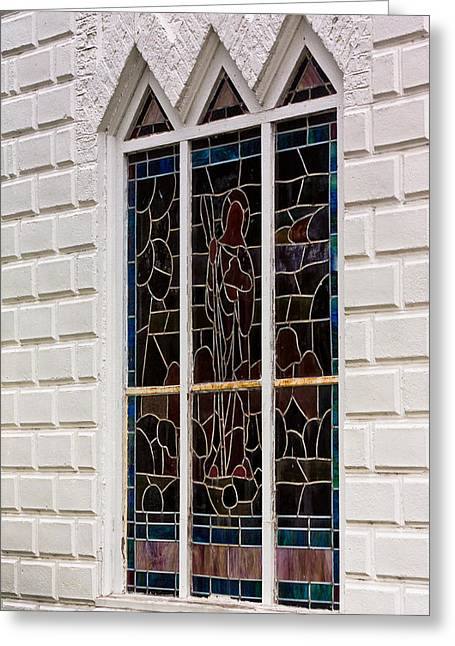 Pasco County Greeting Cards - Art in Glass Greeting Card by Ed Gleichman