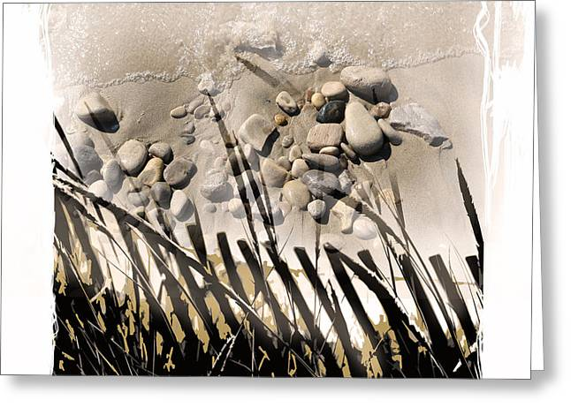 art in the sand series 2 Greeting Card by Bob Salo