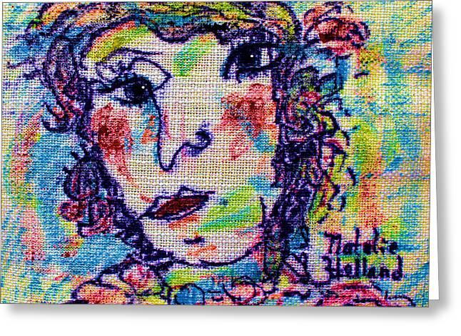 Art Teacher Greeting Card by Natalie Holland