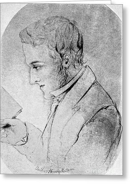 Sideburns Greeting Cards - Arthur Henry Hallam Greeting Card by Granger