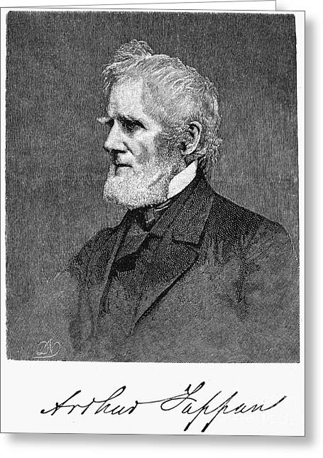 Abolition Greeting Cards - Arthur Tappan (1786-1865) Greeting Card by Granger