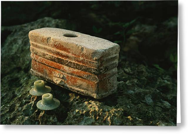 Artifacts From Chac Include A Boxlike Greeting Card by Kenneth Garrett