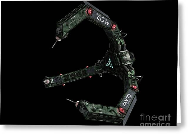 Artists Concept Of The Assimilators Greeting Card by Rhys Taylor