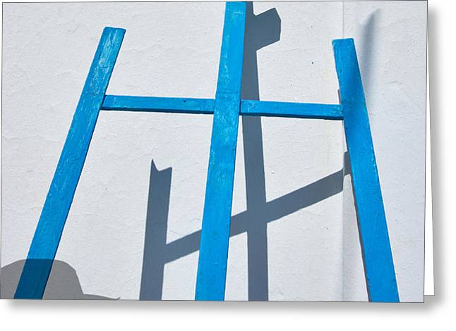 Artists Shadow Greeting Card by Salvator Barki