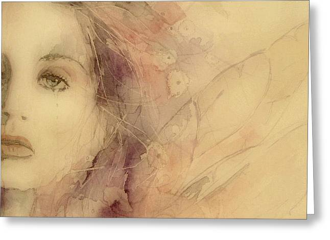 As Tears Go By Greeting Card by Paul Lovering