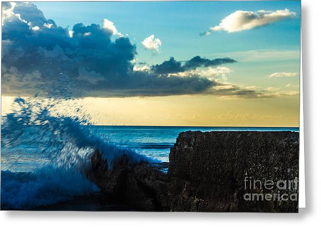 Sailboat Ocean Greeting Cards - As the Day Ends Greeting Card by Rene Triay Photography