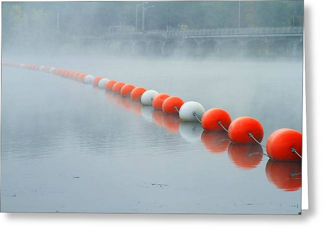 As The Fog Lifts Greeting Card by Karol Livote