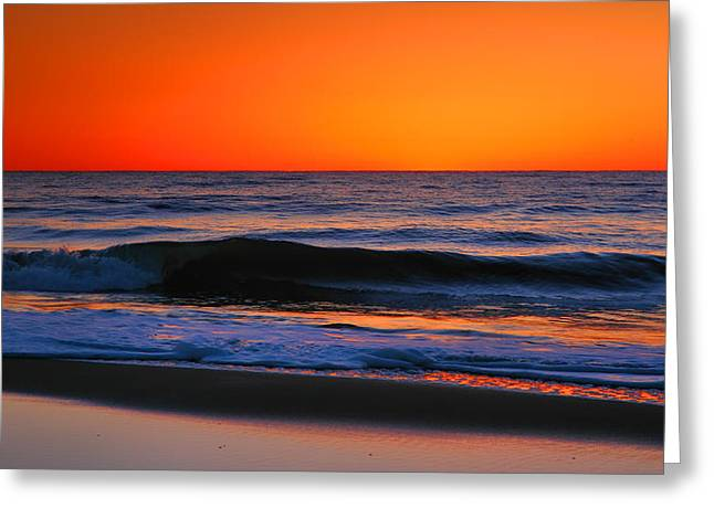 Photogaph Greeting Cards - As The Sun Rises III Greeting Card by Steven Ainsworth