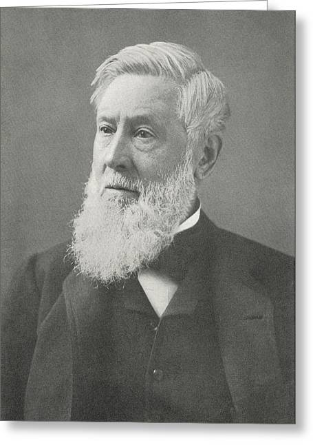 Surname G Greeting Cards - Asa Gray, Us Botanist Greeting Card by Science, Industry & Business Librarynew York Public Library