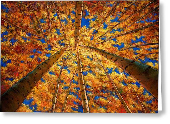 Colorado Greeting Cards - Ascension Greeting Card by Johnathan Harris