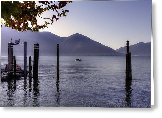 Lake Maggiore Greeting Cards - Ascona - Lago Maggiore Greeting Card by Joana Kruse
