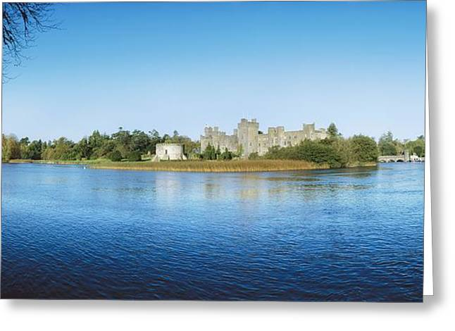 The Western Hotel Greeting Cards - Ashford Castle Hotel, Near Cong, Co Greeting Card by The Irish Image Collection