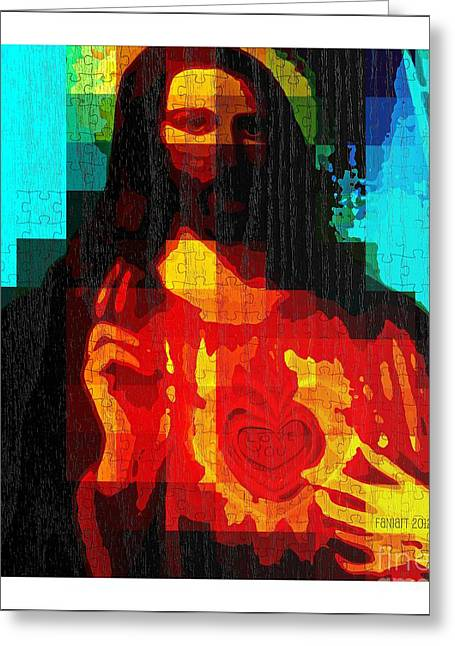 The Followers Greeting Cards - Ask In My Name Greeting Card by Fania Simon
