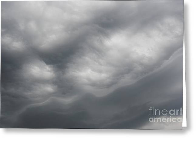 Nimbus Greeting Cards - Asperatus - Sky Before Storm Greeting Card by Michal Boubin